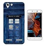 567 - Doctor Who Tardis Police Call Box Design Lenovo Vibe