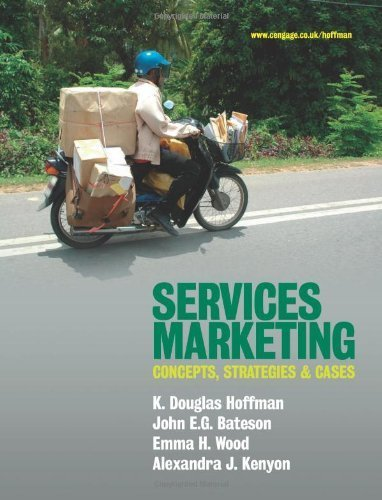 Services Marketing - International Edition by K. Hoffman (2009-03-24)