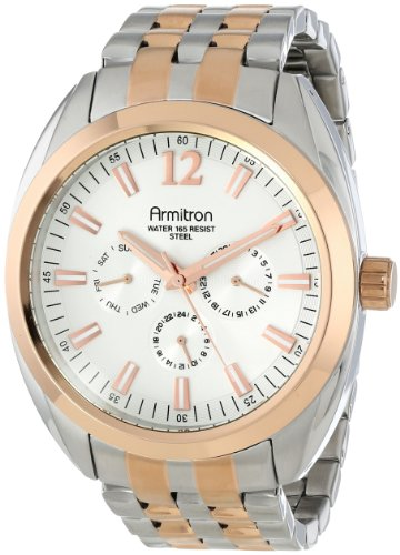 armitron-mens-20-4951svtr-multi-function-silver-tone-and-rose-gold-tone-bracelet-watch