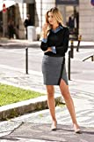 BUFFALO Marken-Pullover schwarz Größe 44/46