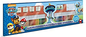 MULTIPRINT Paw Patrol - Juegos de Sellos para niños, Caucho, Madera, 3 año(s), Italia, 860 mm, 30 mm