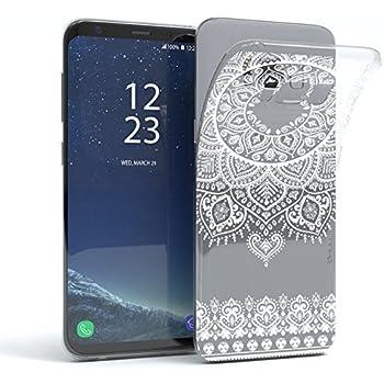 HULI Design Case Hülle für Samsung Galaxy S8 mit Rosen