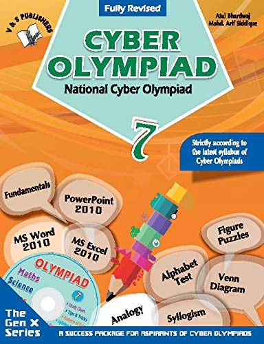 National Cyber Olympiad - Class 7 (With CD)