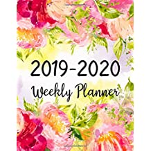 2019-2020 Weekly Planner: Two Years | January 2019 to December 2020 Daily Weekly Monthly Calendar Planner With To Do List