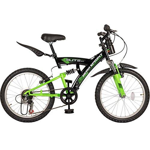 Hero Sprint Elite 20T 6 Speed Junior Cycle (Black/Green)