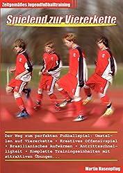 Spielend zur Viererkette - Zeitgemäßes Jugendfußballtraining