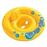 XJRHB Anillo de baño para bebés Bebé Sentado círculo Niños Anillo de natación 1-3 1-3-6 años (Color : Orange)