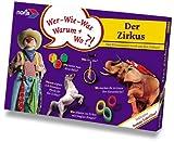 Noris 6074846 Zirkus-Lernspiel mit DVD-Film 20 Min.