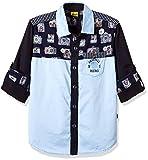 Seals Boys' Shirt (AM8196_navy_8)