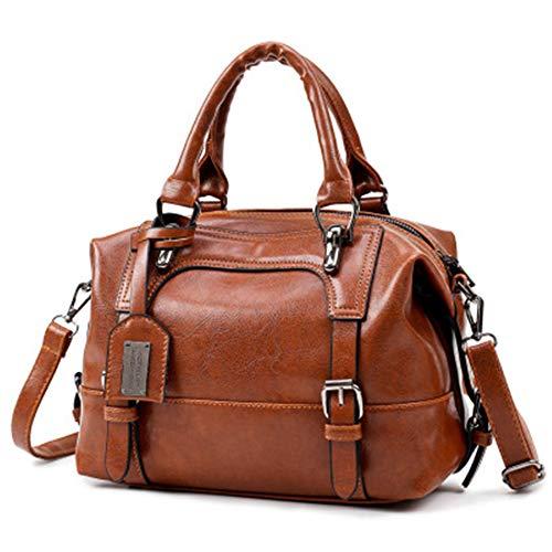 YURDCJX 2019 Neue Frauen Schulter geschlungene Handtasche europäischen und amerikanischen Mode Pu-Leder-Handtasche -