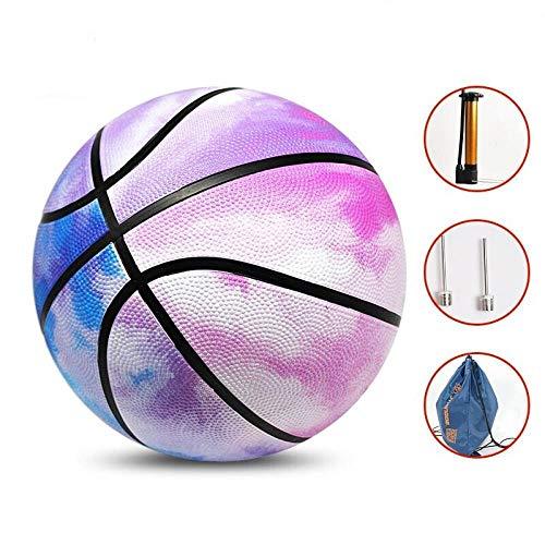 SSLLPPAA Aquarell Pink Damen Basketball Nr. 6 Ball Verschleißfester Basketball Outdoor Basketball, Aquarell Pink