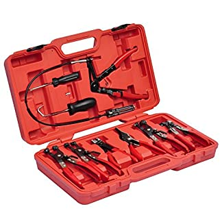 HG® 11tlg mini-colliers de serrage Pince Colliers Pince Colliers Kit de pinces colliers de serrage