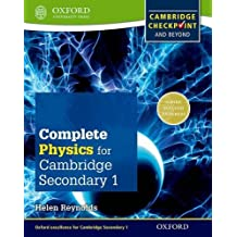 Complete Physics for Cambridge Secondary 1 Student Book: For Cambridge Checkpoint and Beyond (Checkpoint Science)