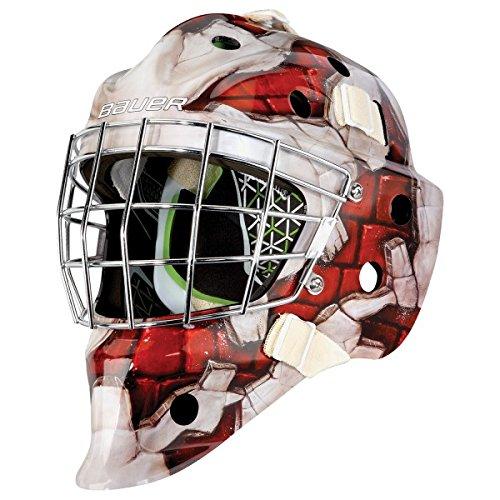 Bauer NME4 Goalie Maske Motive Junior, Farbe:Wall Red -