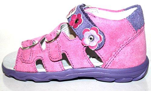 Richter Kinderschuhe , Sandales pour fille - Pink (lollypop/levender 3701)