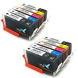 10 Office Channel24 Druckerpatronen kompatibel zu HP364XL + Foto schwarz für HP Photosmart 7520 7510 7525 B8550 C5324 C5380 C6324 C6380 D5460 HP Photosmart Premium C309a C309n/g C310a C410b HP Photosmart eStation C510a