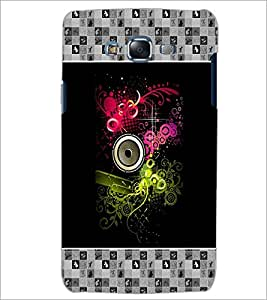 PrintDhaba Abstract Design D-3177 Back Case Cover for SAMSUNG GALAXY ON 7 (Multi-Coloured)
