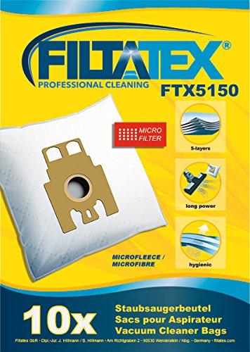 10 x FILTATEX sacs aspirateur Hoover sensory parquet caresse 2300w / hoover sensory 2300w parquet caresse