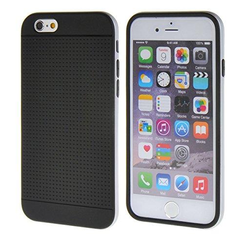 """MOONCASE iPhone 6 Plus (5.5"""") Case Gel TPU Silicone Housse Coque Etui Case Cover pour Apple iPhone 6 Plus (5.5"""") Argenté Gris"""