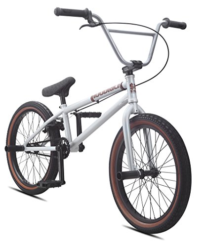 SE Bikes Hoodrich 20 Zoll BMX Grau Matt (2016) (Bmx Race Vorbau)