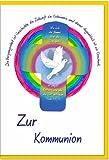 metalum Premium-Glückwunschkarte zur Kommunion mit wunderschönem Metall-Kreuz zum Aufhängen