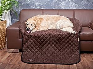 Die spezielle Form und das Material bewahrt Ihr Sofa oder den Pkw-Rücksitz vor Schmutz und Kratzern.  Der vordere Teil kann umgeklappt werden, so dass Ihr Sofa auch vorne geschützt ist. Der hintere Rand dieses Sofaschutzes  ist ca. 25cm hoch und biet...