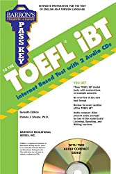 Pass Key to the TOEFL iBT with Audio CDs (Barron's Pass Key to the TOEFL iBT) by Pamela Sharpe Ph.D. (2010-04-01)