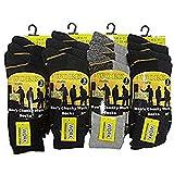 Best Work Socks - Mens 12 Pairs Heavy Duty Work Socks Size Review