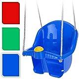 Swing Seat Garden Outdoor Rope Childrens Baby Kids Toddler Plastic Blue