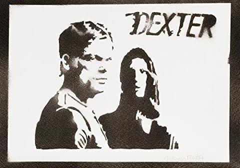 Dexter Handmade Street Art - Artwork - Poster