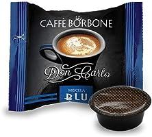 Caffè Borbone Don Carlo Caffè in Capsule, Confezione da 100 Capsule, Miscela Blu