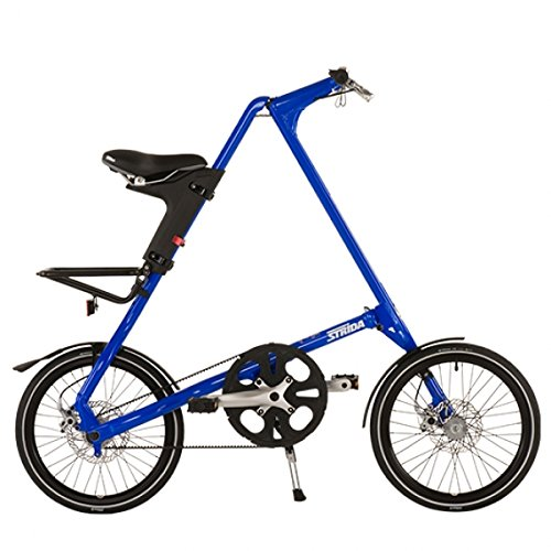 Preisvergleich Produktbild Falt Fahrrad Strida SX 18 Zoll 1S in Farbe Blue Man