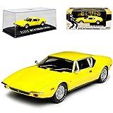 De Tomaso Pantera Coupe Gelb Elvis Presley 1971-1993 1/43 Greenlight Modell Auto