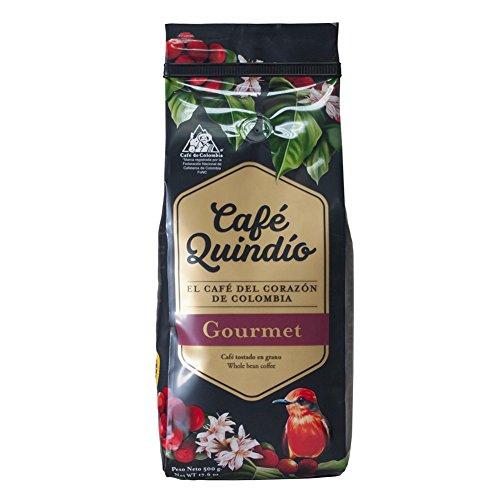 Café Quindío Gourmet Café en Grano 100% Colombiano, 500g