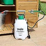 Wido 5L Pressure Sprayer Pump Action Garden Care Spray Weed Killer Knapsack Bottle