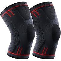kuangmi Knie Sleeve Kompressions 3Versionen bequem für Sport und Schmerzlinderung 2Stück preisvergleich bei billige-tabletten.eu