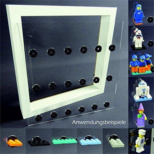 Preisvergleich Produktbild Einleger für Ribba Rahmen Vitrine für LEGO® Serien Platz für 18 Figuren