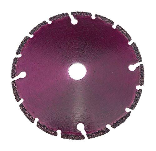 76 Vakuum (PRODIAMANT Premium Diamant-Trennscheibe Universal 75 mm x 10 mm Diamanttrennscheibe 75mm passend für BOSCH GWS 10,8-76 V-EC Professional 76mm)