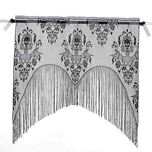 LYDB Bambus Tür Vorhang, Bambus Vorhang Schatten Belüftung Abdeckvorhang -blau 115x200cm