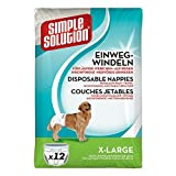 simple solution Hunde Windeln XL