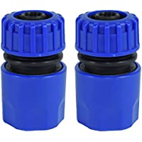 "2 x 1/2"" Quick release Garden Hose Female Pipe Adapter Connector Fast Connect"