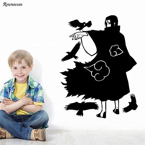 jiushizq Cartoon Japanischen Anime Manga Wandaufkleber Für Kinderzimmer Jungen Schlafzimmer Wohnkultur Aufkleber Vinyl Innen Tapete Wandbild M 42x55 cm (Hohen Geburtstag Monster Kuchen)