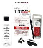 Godefroy TintKit for spot coloring, Augenbrauen,Bart- Färbeset für Profis, dunkelbraun, 1er Pack (1 x 20 Stück)