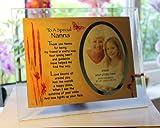 Best Il Nonni regalo Photo Frames - Inspirational Glass Poem photo Frame per una speciale Review