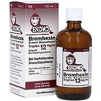 Bromhexin Tropfen 12mg/ml, Spar-Set 2x100ml .Wirkt schleimlösend und verflüssigt festhaltenden Bronchialschleim... preisvergleich bei billige-tabletten.eu