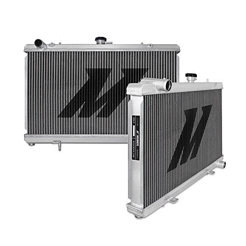 Mishimoto MMRAD-S13-89SR 240SX Performance - Radiador de aluminio (motor SR20, 1989-1994), color plateado