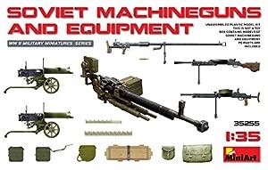 Unbekannt Mini Tipo 35255Maqueta de Soviet Machi neguns y Equipment, Juego
