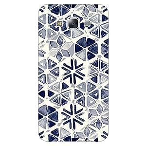 Jugaaduu Snow winter Pattern Back Cover Case For Samsung Galaxy E5