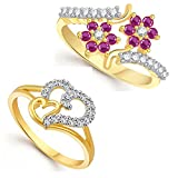 Lady touch Combo of Ruby 24K Gold and do...