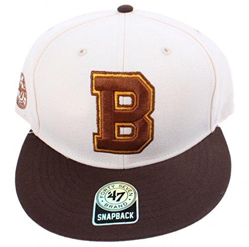 47 Brand NHL BOSTON BRUINS Natural Ignition MVP SNAPBACK Cap NEU/OVP